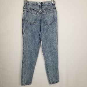 Stefano International Jeans - Vintage Stefano High Rise Acid Wash Mom Jeans